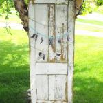 rustic wedding. vintage wedding. rustic decor. rustic farm door. farm door.