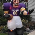vikings. football party. football theme. party rental.