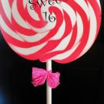 sweet 16. birthday party. candyland party. sweet party. lollipop.