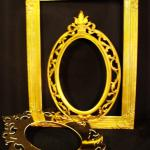 gold frames. hollywood party. hollywood. photo props. gold frames.