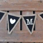 rustic wedding. burlap. vintage wedding. burlap banner. vintage burlap banner. mr. & mrs. banner. mr. & mrs. burlap banner. wedding banner.