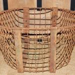rustic wire basket. wedding. rustic wedding.