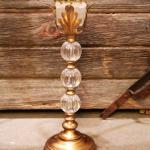 vitnage wedding. wedding. rustic barn wedding. vintage candle holder. candelabra. vintage candelabra