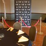 VIP theme. VIP decorations. Hollywood decorations. Red Carpet. Red Carpet decor