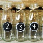 table numbers. wedding. vintage wedding. hollywood centerpices.