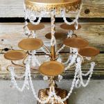 gold cake stands. wedding. vntage wedding. vintage glam. barn yard wedding.