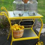 lemonade cart. drink cart