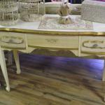vintage dressing table. wedding. rustic wedding. vintage wedding. dessert stand. vintage dessert stand.