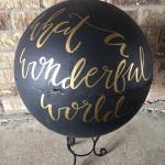 wedding. vintage wedding. vintage globe. globe. travel theme. wedding decorations. barn wedding.