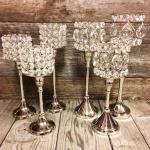 wedding. vintage wedding. wedding rentals. candle holders. jeweled candle holders. jeweled candle holders for rent. wedding props. wedding centerpieces. diamond candle holders. crystal candle holders