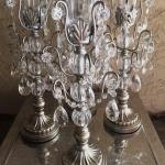 silver. silver centerpieces. silver candles. silver candelabras.jeweled candles. jeweled candelabras. jeweled silver candelabras.