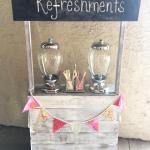 lemonade stand. popcorn stand. rustic stand. drink stand. wedding. rustic wedding. barn wedding. vintage wedding. rustic snack stand.