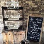 wedding. vintage wedding. rustic wedding. wedding rentals. vintage rentals. antiques. s'more bars. snack bars. rustic s'more bar. s'mores. snacks