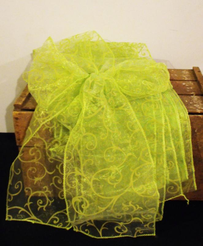 Lime Green Chair Sashes All The Rage Decor