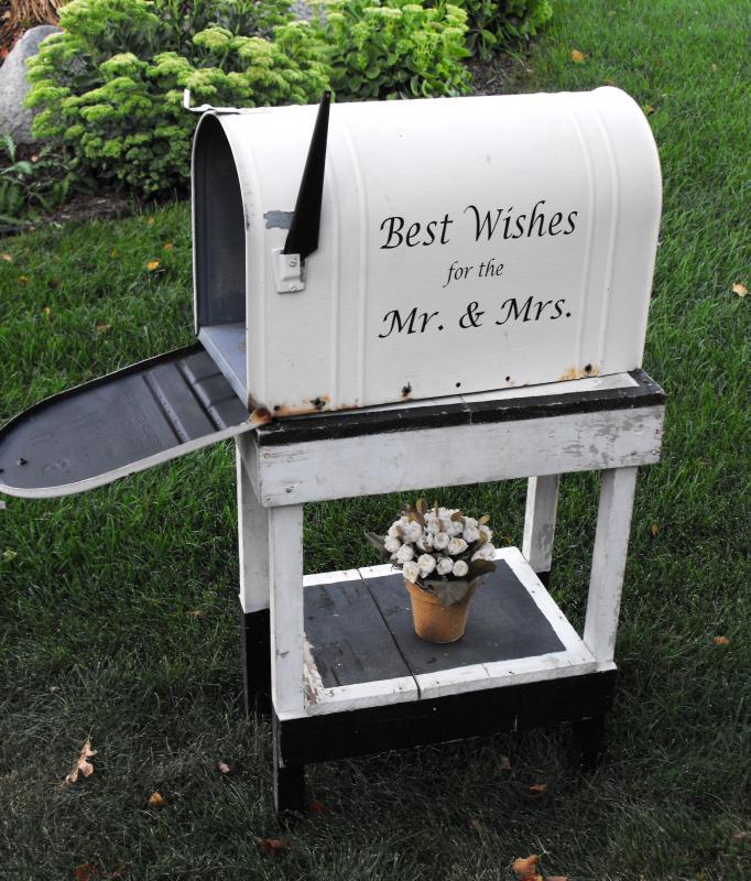 Wedding Mailbox Decorating Ideas Elitflat