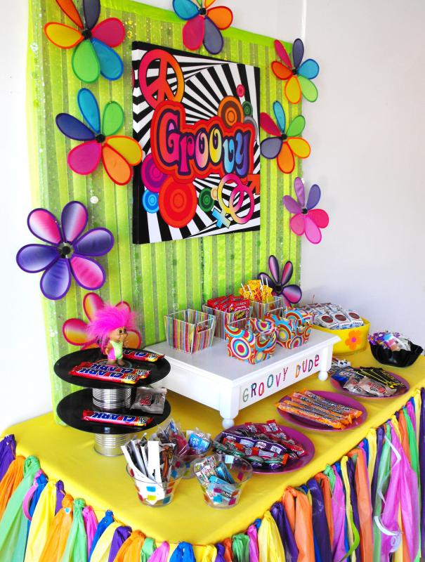 70 S Birthday Party All The Rage Decor