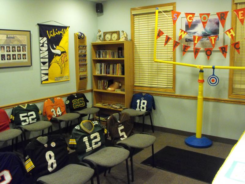 Office Football Theme Week All The Rage Decor Magnificent Office Furniture Team Decoration