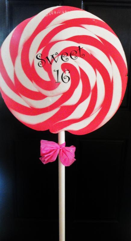 Giant Lollipop Prop