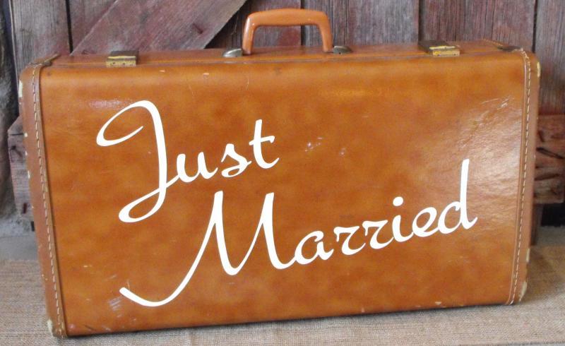 Just married vintage Picture #122243045   Blingee.com  Vintage Just Married