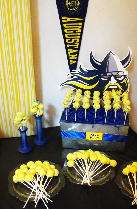 Yellow Amp Blue Graduation All The Rage Decor
