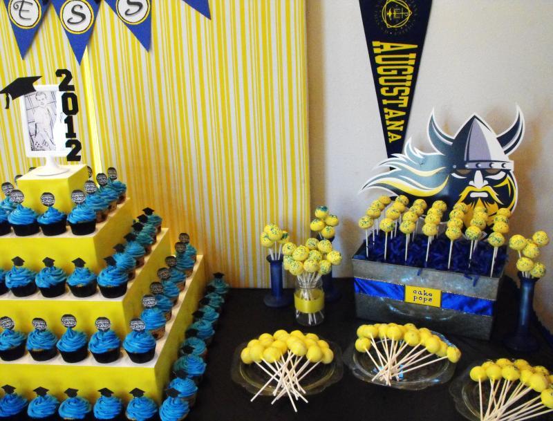 Yellow Amp Blue Graduation All The Rage Decor