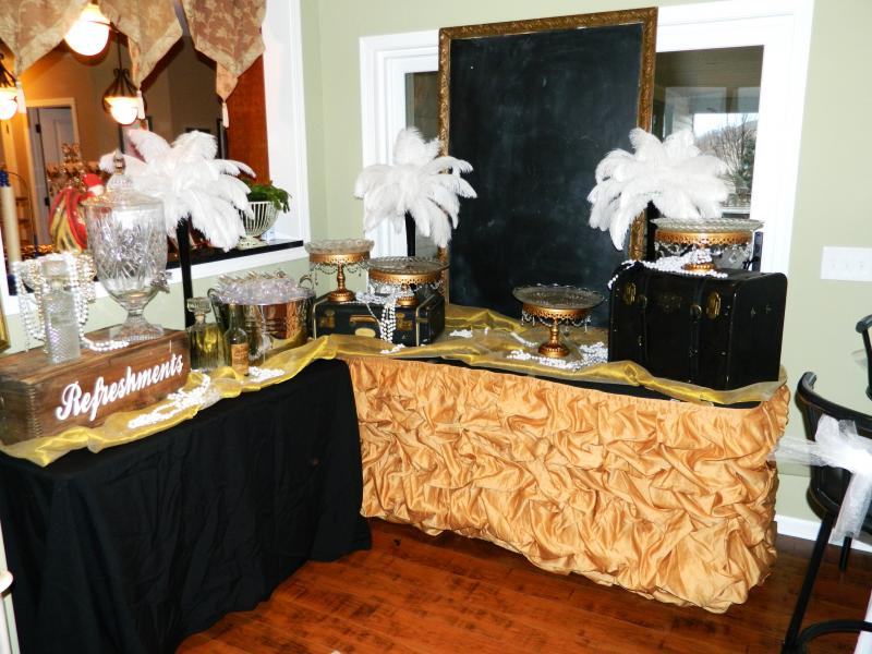 Great Gatsby Bridal Shower All The Rage Decor
