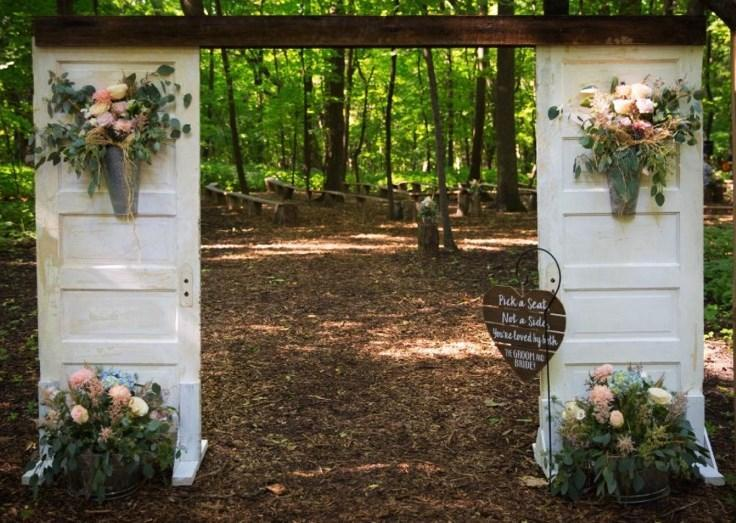 Rustic Wedding Arch.Rustic Door Arch All The Rage Decor