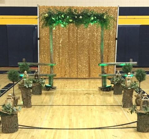 Enchanted Forest Grand March Prom