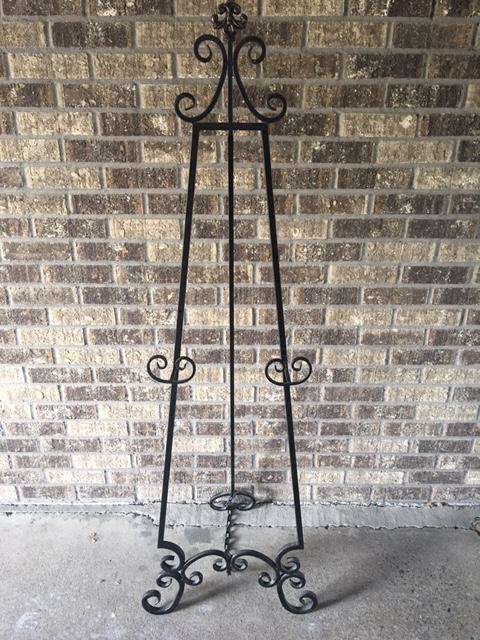 rage the metal floor rentals all floors silver decor easel img