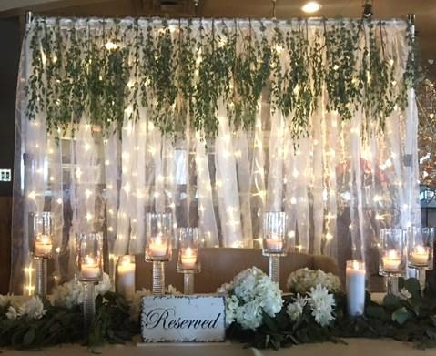 Light Up Curtain Backdrop All The Rage Decor